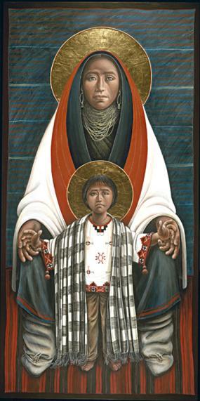 Hopi Madonna & Child