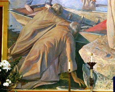 The repeteance of Saint Peter