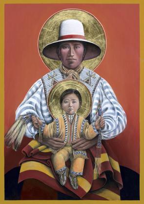 Lakota Joseph and Child