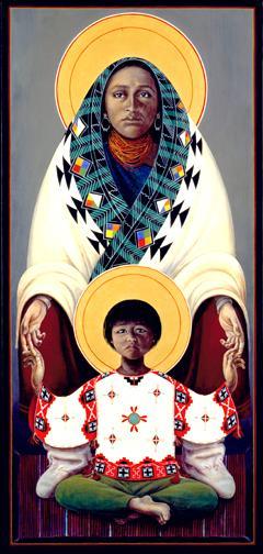 Hopi Madonna and Child 2