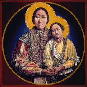 Patowatomi Madonna and Child