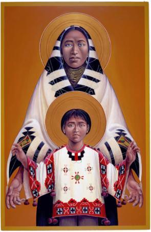 Hopi Madonna and Child