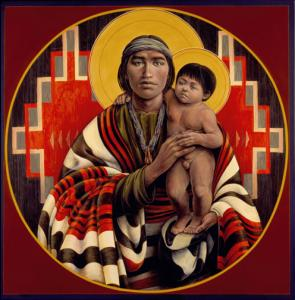Navajo St. Joseph & Child
