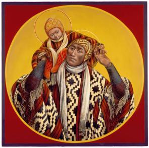 Bolivian St. Christopher & Child Jesus