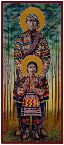 Seminole St. Joseph & Boy Jesus